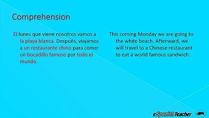 Amazon.com: eSpanishTeachers Beginner Spanish Language Course Software Lessons Version 3.0 with Bonus 101 Spanish Verbs