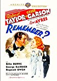 Remember? (1939)