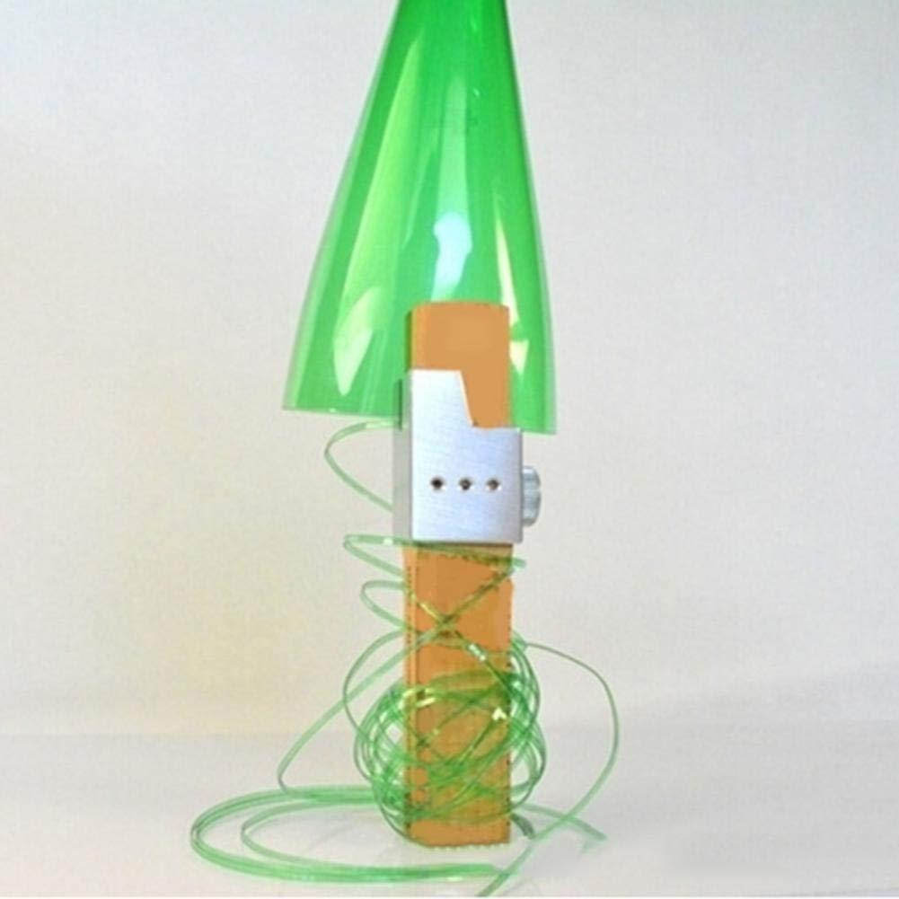 Cortador de botellas de plástico PET para exterior, color verde ...