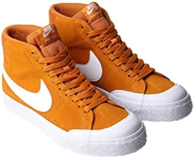 Recurso Destructivo Elaborar  Amazon.com: Nike SB Zoom Blazer Mid XT Zapatillas circuito Naranja/Blanco  Mens 11,5: Shoes