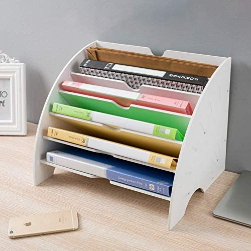 Sector Document holder Multilayer document holder Office supplies Organizer Magazine display -White