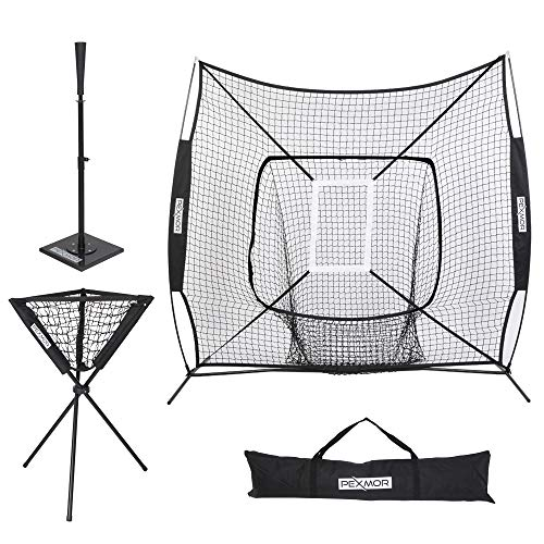 PEXMOR Portable Baseball Softball Practice Net 7