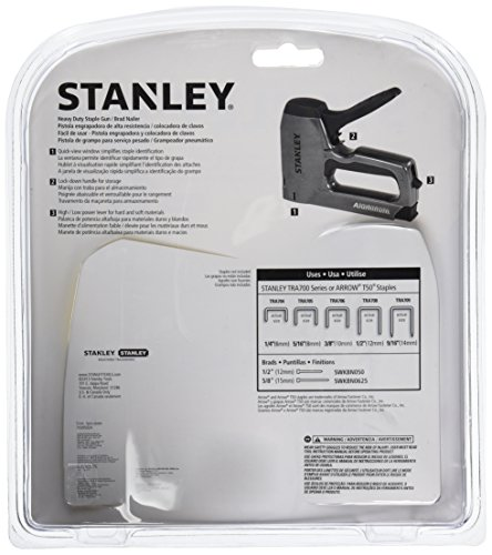 076174050073 - Stanley TR250 SharpShooter Plus Heavy-Duty Staple/Brad Nail Gun carousel main 1