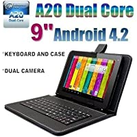 Goldengulf 9' INCH ANDROID 4.2 TABLET PC 8GB DUAL CAMERA DUAL CORE A23 + KEYBOARD CASE BUNDLE,Registered in Washington