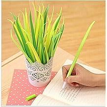Good done 36Pcs Beautiful/Cute/Fashion Long Grass/Blade/Leaf Shaped Rollerball Pens