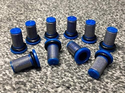 POHOVE Filtro Acqua 50 Mesh Accessori Super Clean Spruzzatore Uso Professionale Irrigazione Spinato Interfaccia Trasparente sy Installare Durevole Filtrazione Ultrafine Giardino Agricoltura 25mm