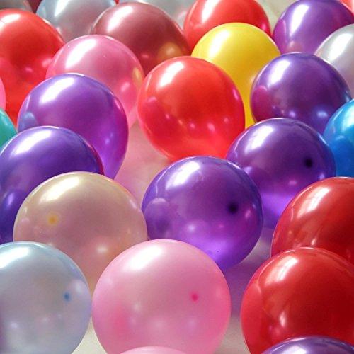 100 globos 10 pulgadas 2 G perla metalizado animazione ...