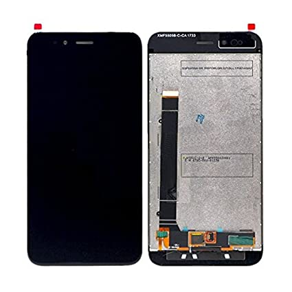 LCD Display with Touch Screen Digitizer Glass for Xiaomi Mi A1 (Black)