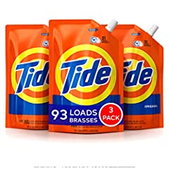 Tide Original Scent is a powerful liquid laundry detergent that is formulated with HE Turbo Clean technology for 6x the cleaning power in half the time*. Your beloved Tide Original Scent HE Turbo Clean liquid laundry detergent is now availabl...