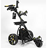 Bat-Caddy X3R Remote Control Cart w/ Free Accessory Kit, Black, 35Ah SLA