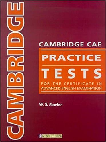 Cae Test Pdf