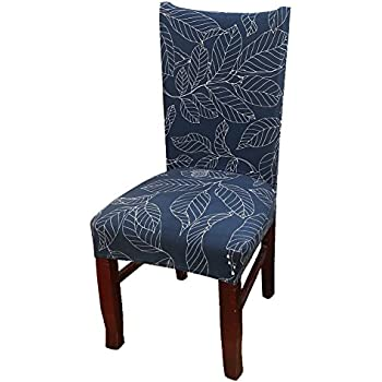 Khalee Super Fit Stretchable Short Dining Room Chair Protector Cover Slipcovers Style 08