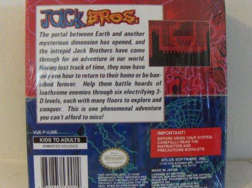 Jack Bros. Virtual Boy Nintendo - US Version