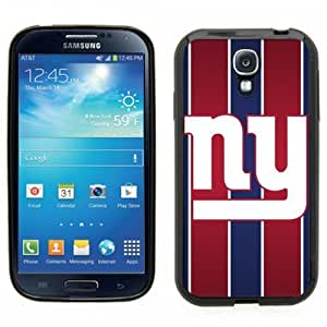 Samsung Galaxy S4 SIIII Black Rubber Silicone Case - NY Giants Football