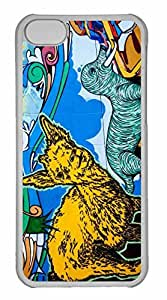 iPhone 5C Case, Personalized Custom Critters for iPhone 5C PC Clear Case