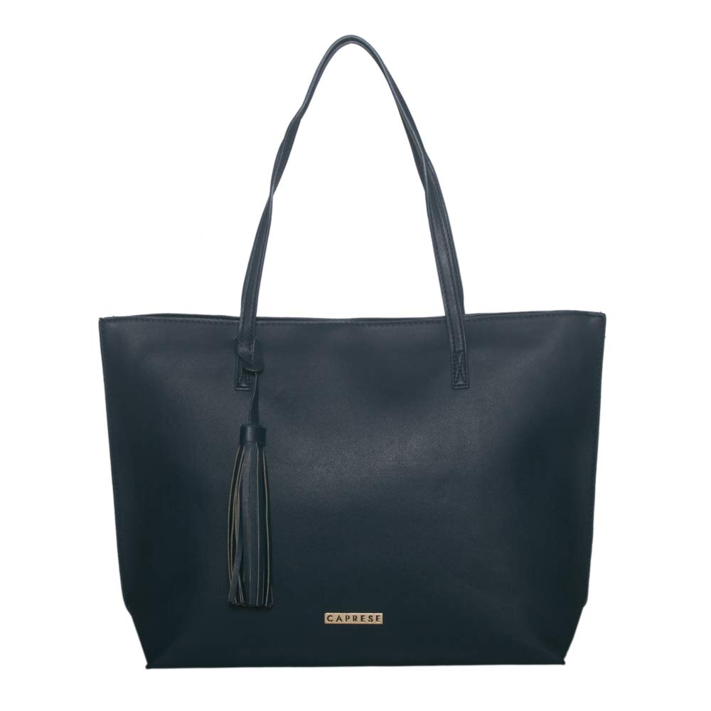 Buy Caprese Vinci Women S Tote Bag Blue At Amazon In
