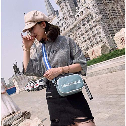 Cuir Nouveau Sac color Femme Black Pour Souple Main Blue Xinsu En Home À STqIx