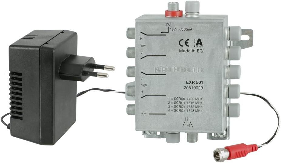 Kathrein Exr 501 Einkabel Umschaltmatrix Für 4 Receiver Elektronik
