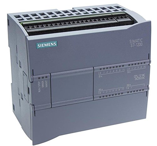 Siemens 6ES7214-1AG40-0XB0 1214C DC/DC/DC Control Processing Unit 100 KB 24 Volt DC 500 Milli-Amp