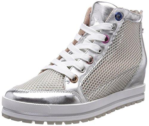Marc Cain Dame Jb Sh.39 L65 Sneaker Silber (sølv) jsyciaWk