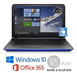"HP 17-223cy Laptop, AMD A10, 8GB, 17.3"" HD+ Touchscreen, B&O Sound, Office 365 (Certified Refurbished)"