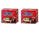 Haitai Ohyes Premium Chocolate Coated Cake 336G x 2 box