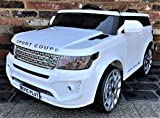 Epic Play Ltd Kids Range Rover HSE Vogue Sport Style Off Roader 4x4 12v Electric / Battery Ride On Car White