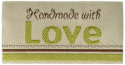 Blumenthal Iron-On Lovelabels 4/Pkg, Handmade with Love