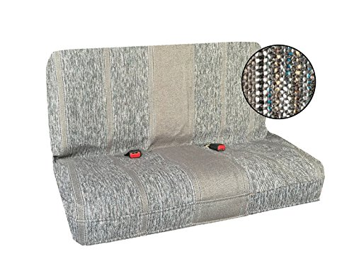 Saddle Blanket Bench Seat Cover, Baja Woven Design - Universal Fit for Chevrolet, Ford, Dodge, Toyota, Jeep Cars and Trucks...
