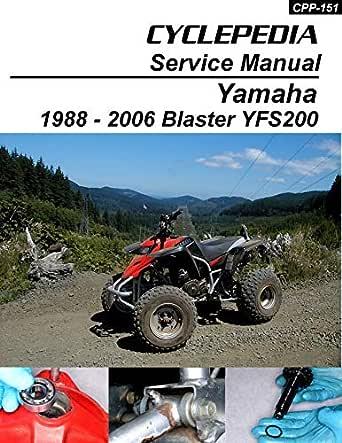 [DIAGRAM_1CA]  Amazon.com: 1988-2006 Yamaha YFS200 Blaster Service Manual eBook:  Cyclepedia Press LLC: Kindle Store | 1988 Yamaha 200 Blaster Wiring Diagram |  | Amazon.com