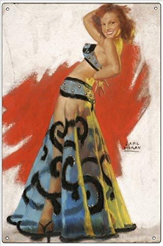 Amazon.com: WallDector Belly Dancer by Earl Moran Cartel de ...