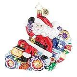 Christopher Radko Carried Away Christmas Ornament