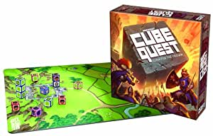 Cube Quest: Clash for The Crown Board Game