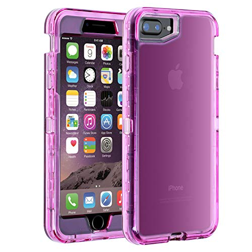 Co-Goldguard iPhone 7 Plus/8 Plus Case Heavy Duty Hybrid Dual Layer Rugged Cover Shockproof Shell Hard PC and Soft TPU Bumper Protective Case Design for iPhone 7+/8+ 5.5