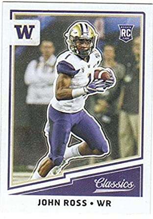 723c765e Amazon.com: 2017 Panini Classics #249 John Ross Washington Huskies ...