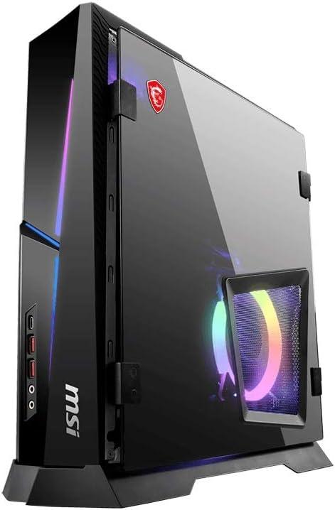 CUK MPG Trident AS by MSI Gaming Desktop PC (Intel Core i9, 64GB DDR4 RAM, 1TB NVMe SSD + 2TB HDD, NVIDIA GeForce RTX 2060 6GB, Windows 10 Home) Gamer Computer