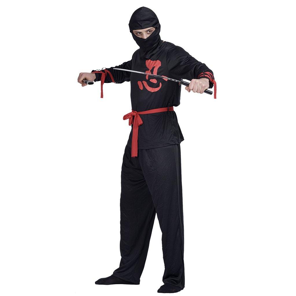 EraSpooky Mens Halloween Ninja Costume Suit: Amazon.es ...