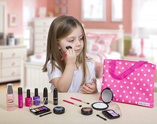 Pretend Makeup Play Deluxe Set For Children by Cutegirl Cosmetics