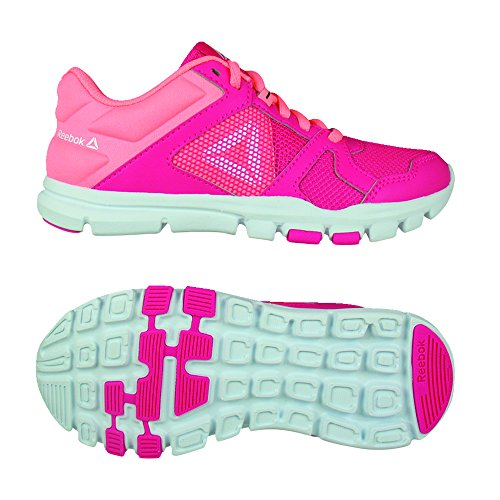 Chaussures white digital 000 Pink Train Reebok 10 Femme Yourflex Fitness twsited De Multicolore Pink xCqF7tqw