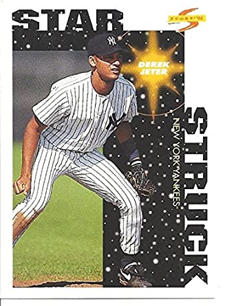 Derek Jeter Star Struck Rookie Card 1996 Scor Baseball