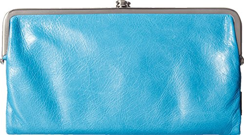 [Hobo International Womens Lauren Vintage Wallet Leather Clutch Purse (Capri)] (Hobo Purses)