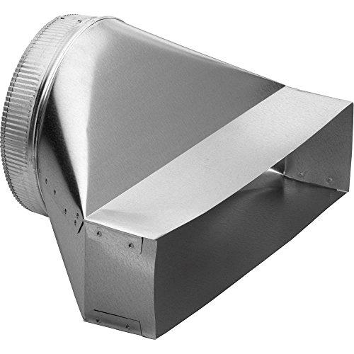 Downdraft Steel Stainless Ventilation (Nutone Broan 423 Vertical Transition 4-1/2