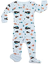 Baby Boys Footed Sleeper Pajama 100% Cotton (Size 6 Months-5 Toddler)