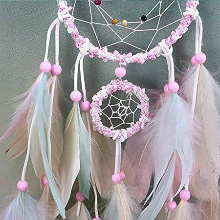 DaTun648 Sansei III Pink Dream Catcher Colgante Chica ...
