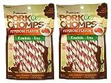 Scott Pet 60 Count Pepperoni Twist Pork Chomps (2 Pouch)