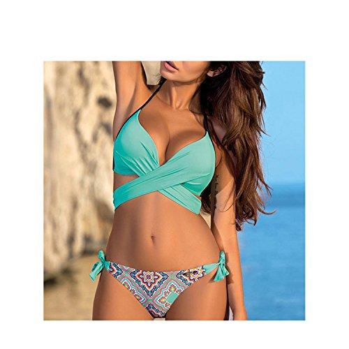 Huntty Bikini Women Swimsuit Push up Beach Bathing Suit Swim Wear XXL 16 S