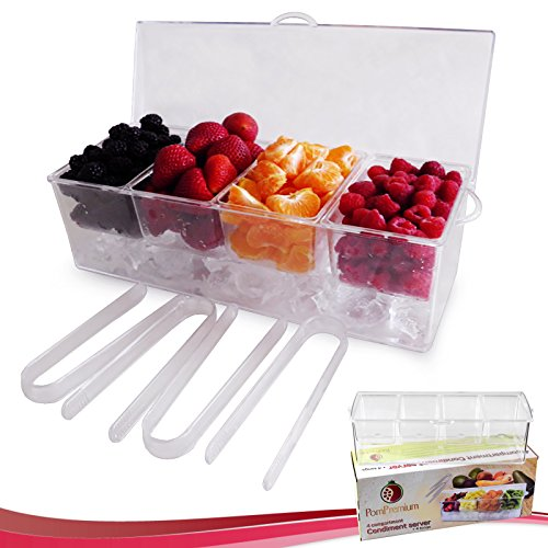 Chilled Condiment Compartments Removable Containers product image