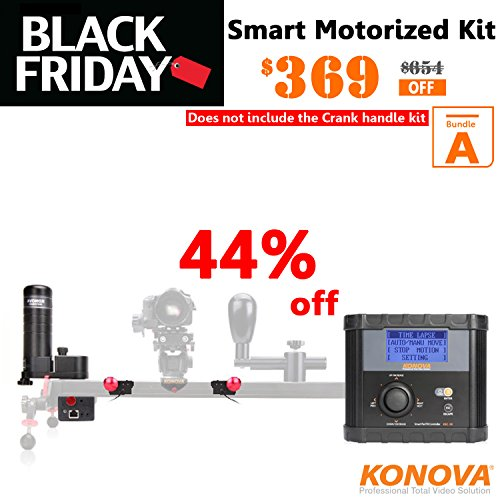 Konova Timelapse / Smart Pan Tilt Motion Controller Bundle A by KONOVA