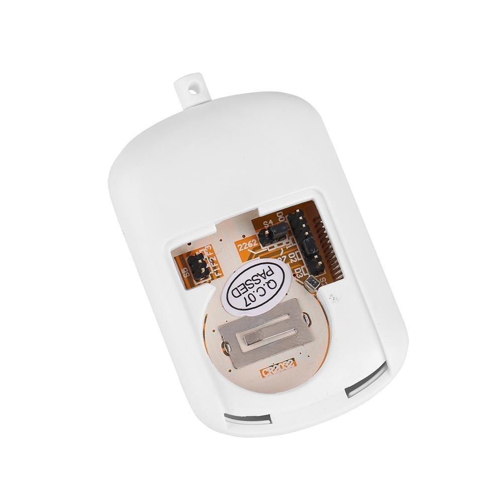 Zerone 433MHz Wireless Home Security Emergency Siren Alarm, SOS Panic Button Alarm for WiFi GSM Home Security Alarm System with Red Chain by Zerone (Image #7)
