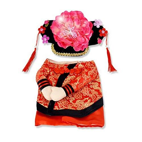 Dog Costume - Funny Chinese Princess Cosplay Clothes for Cats Halloween Costume for Dogs Xmas Suit Cat Clothing Dog Outfit Pet Apparel]()